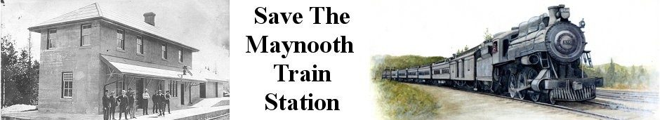 The Maynooth Train Station